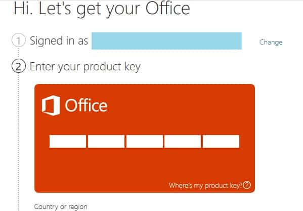 Install Microsoft Office
