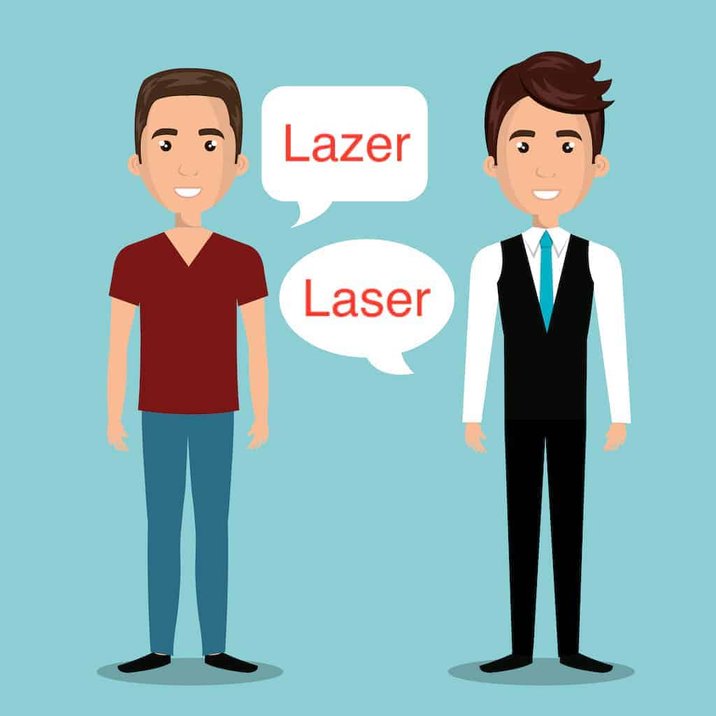 laser or lazer