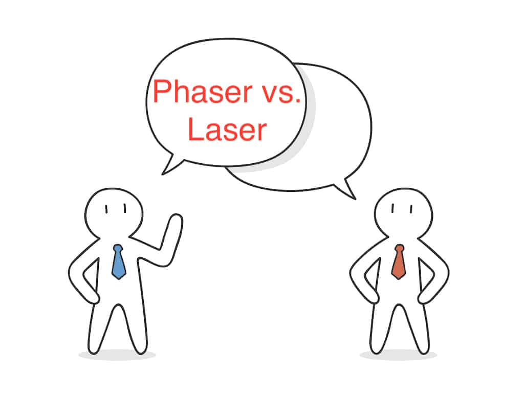Phaser vs. Laser: What's the Difference?