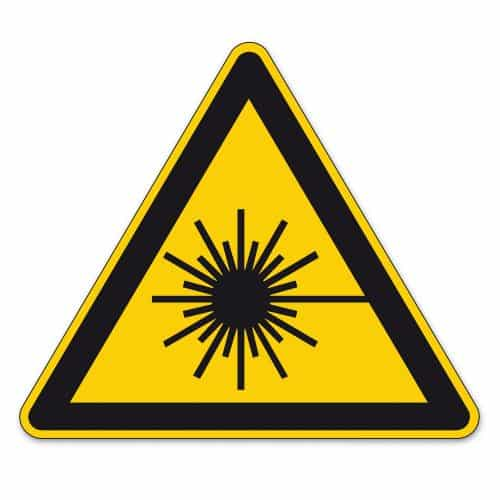 safety sign laser pointer