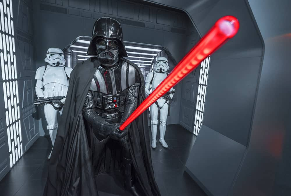darth vaders lightsaber