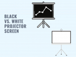 Black Projector Screen vs. White: A Complete Comparison