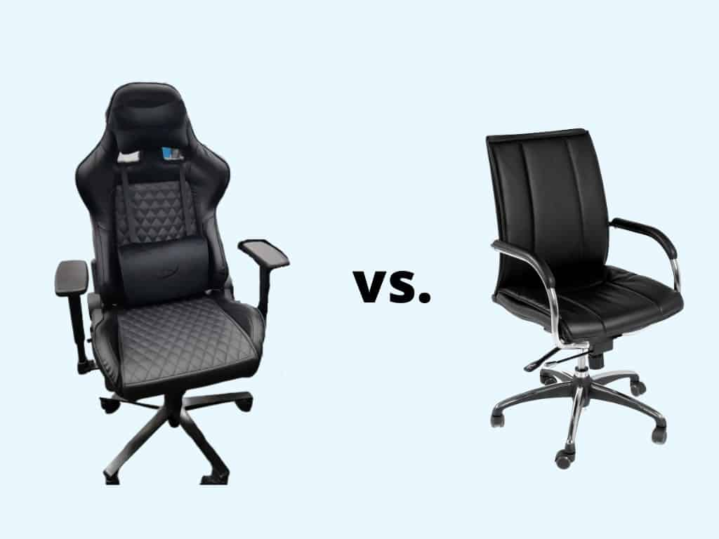 gaming vs office chairs