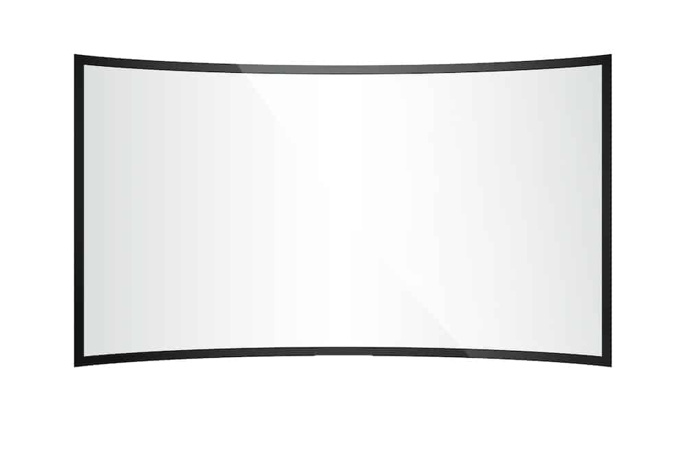 curved projector screen
