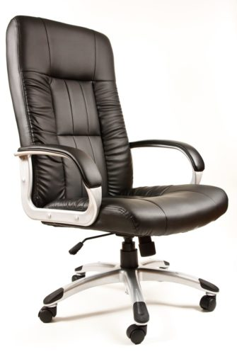 office chair with thick padding