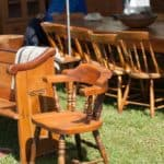 Old Furniture Depreciation Including Chairs Tables
