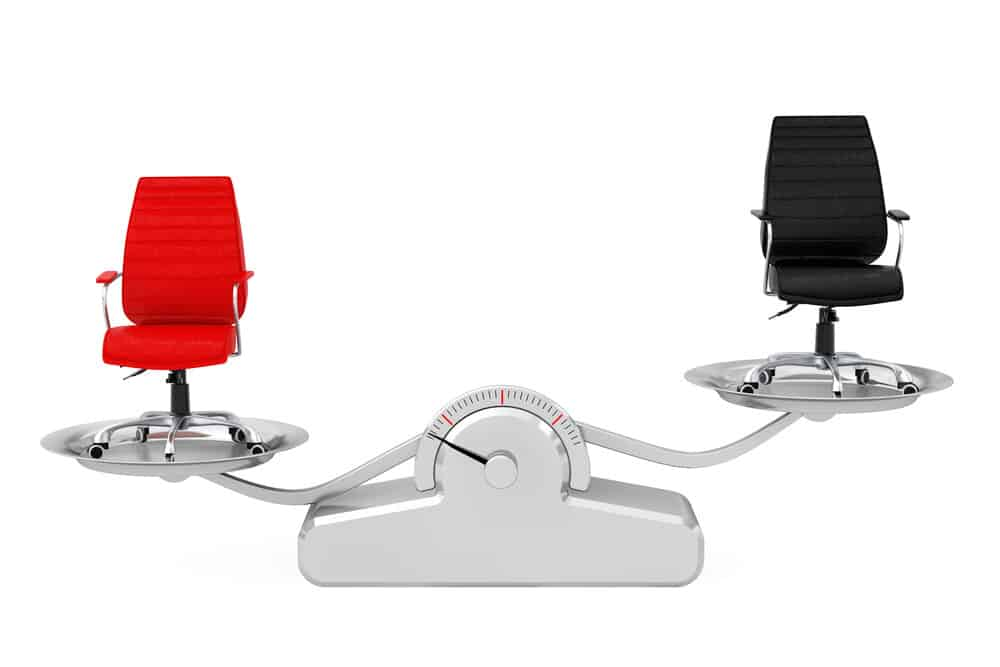 Red and Black Leather Boss Office Chairs Comparison