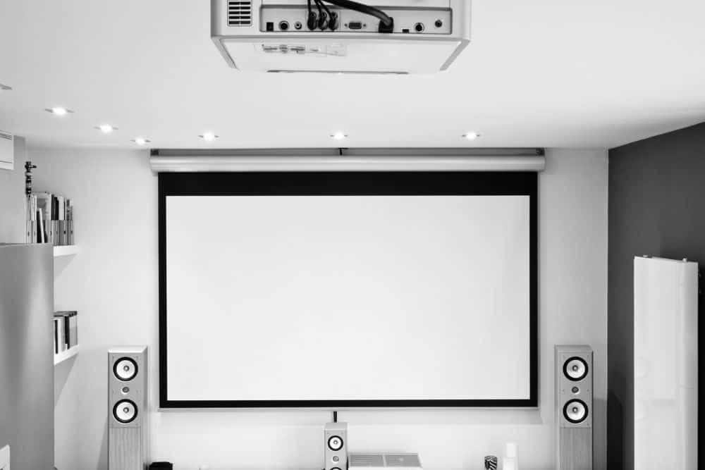 Home Theater with Surround Sound Systems for Projectors