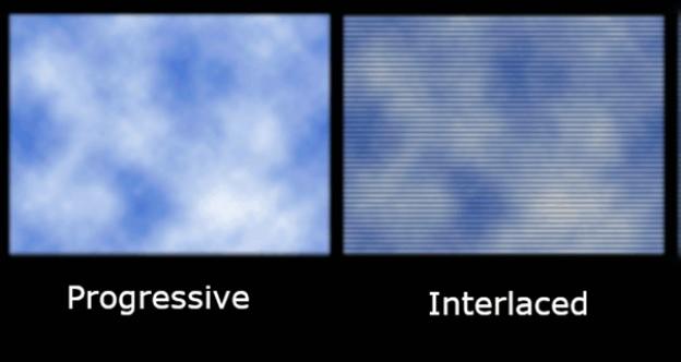 progressive vs interlaced