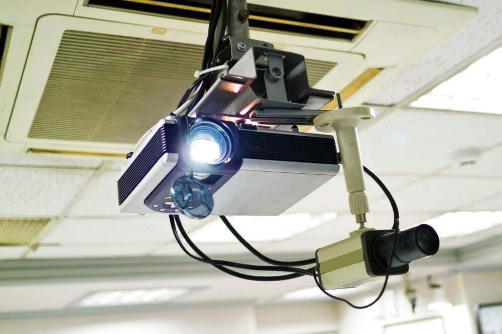 projector with daylight lumens