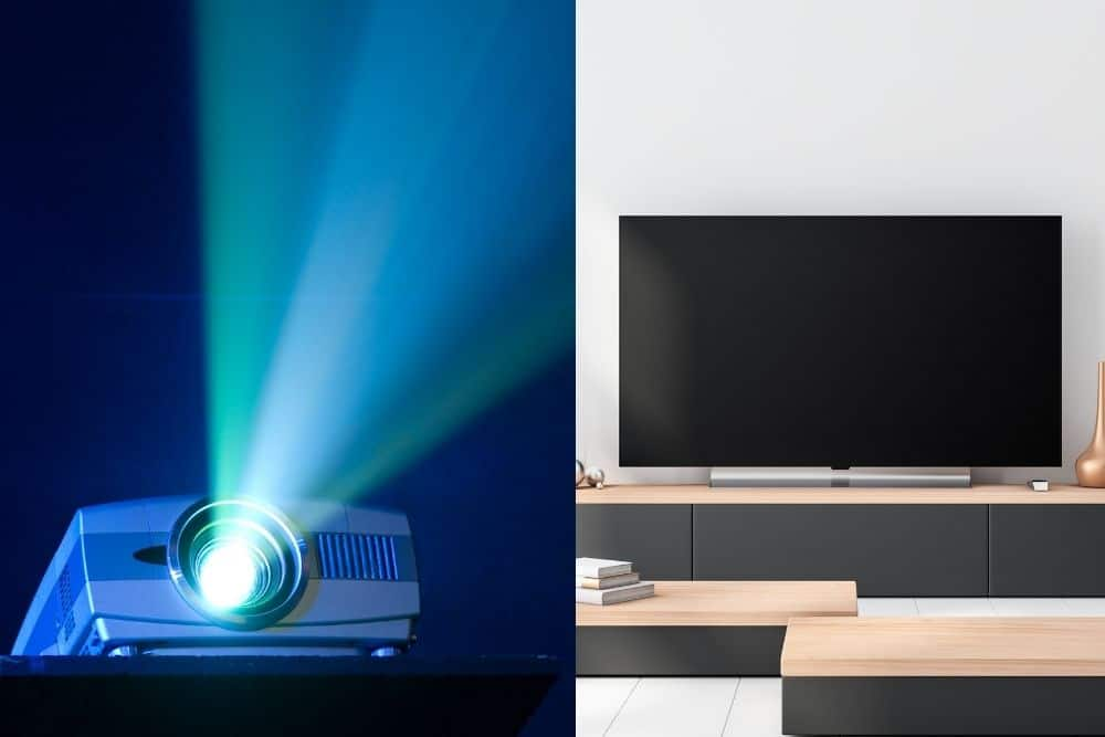 4k Projector vs OLED TV