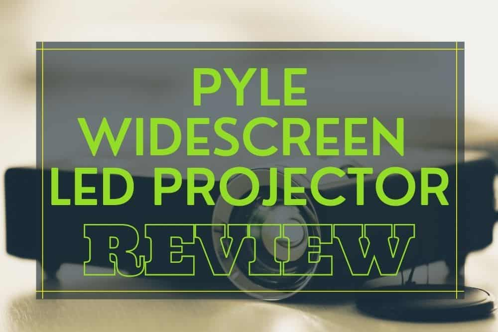 Pyle Widescreen LED Projector