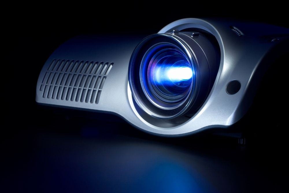 movie theater projector