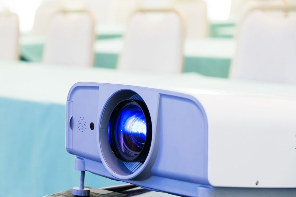 projector for classroom presentations