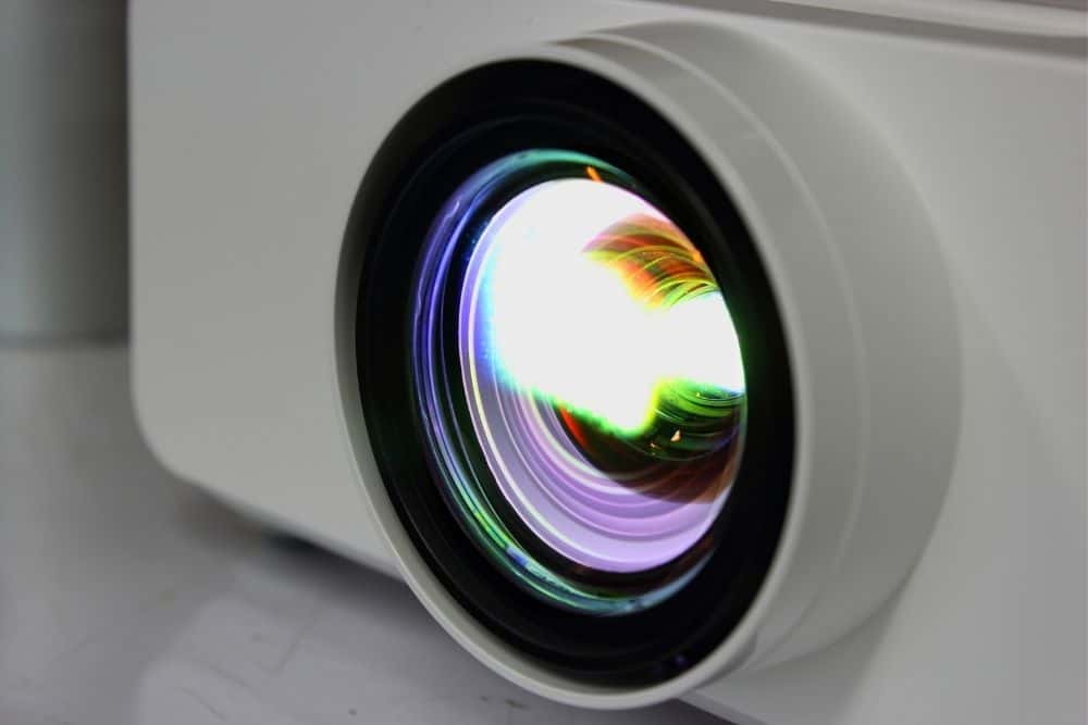 the lamp of 4k projector