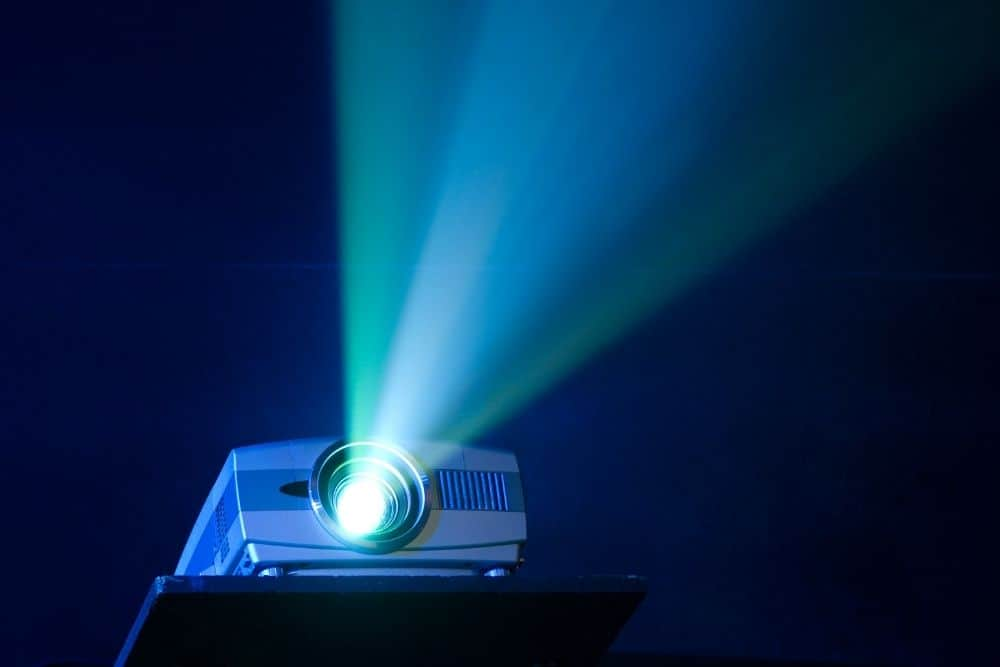 the projector for projection mapping