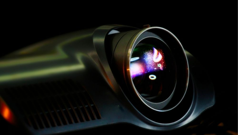 the projector lens