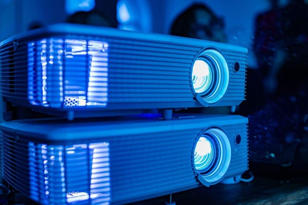 two affordable 4k projectors