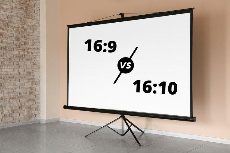 16:9 vs 16:10 projector screen