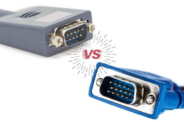 RS232 versus VGA