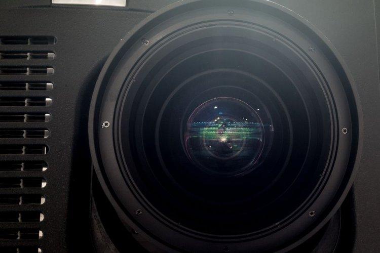 huge projector lens