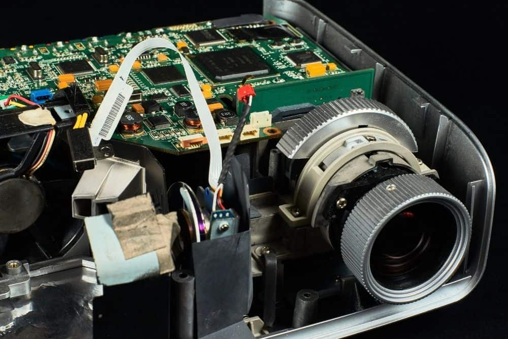 projector inside components