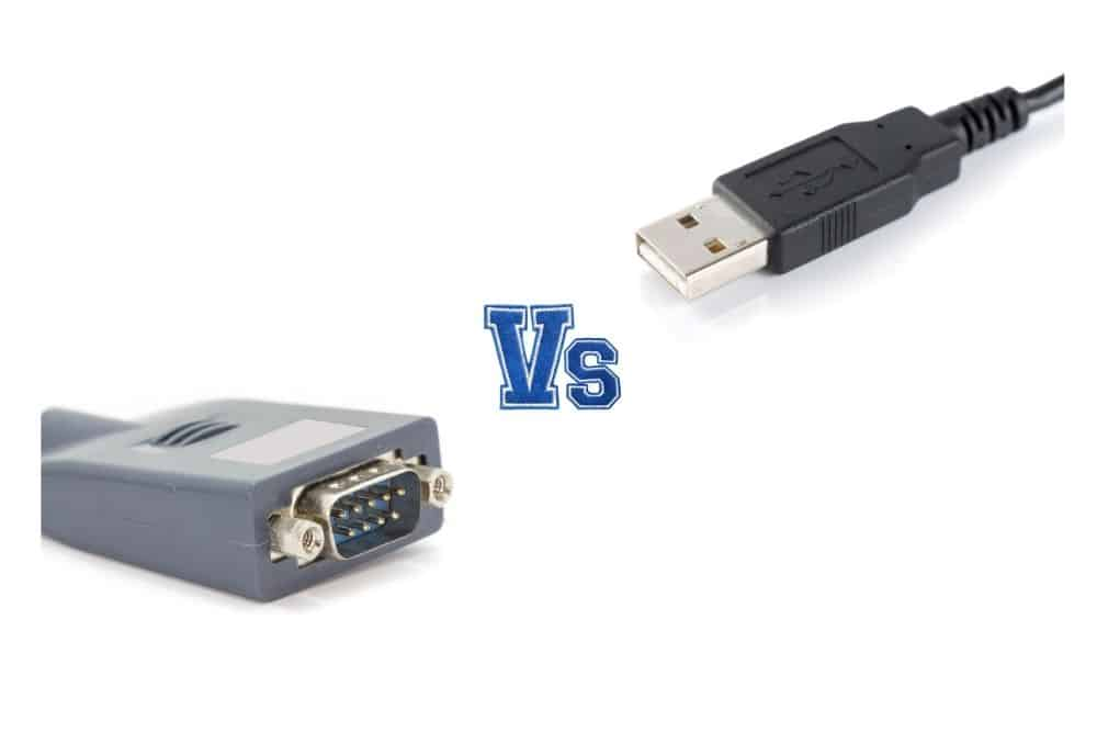 rs232 vs usb differences