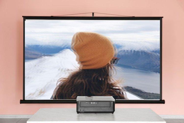 3d crosstalk in a 3d projector