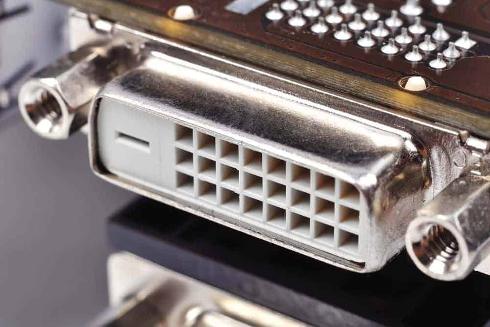 DVI-D Port on a projector
