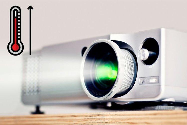 Panasonic projector overheating
