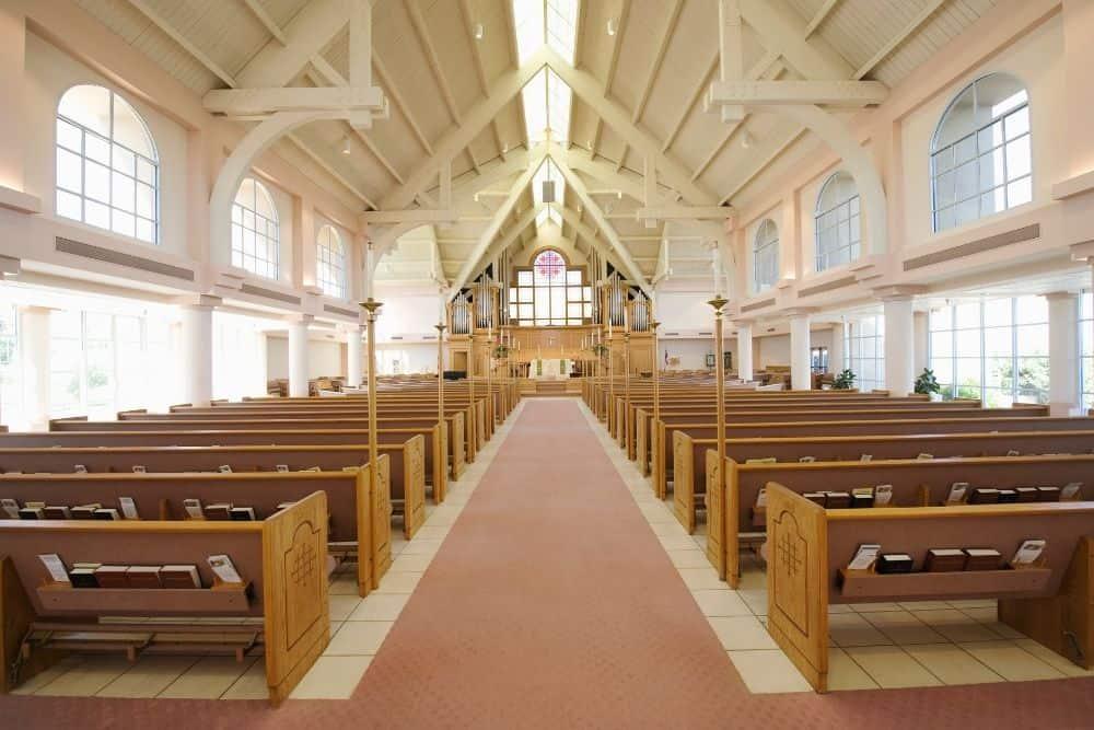 a church hall