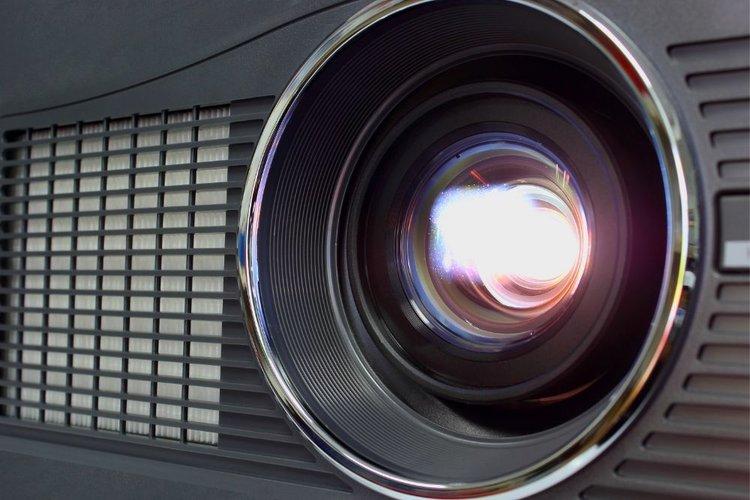 a projector lamp bulb