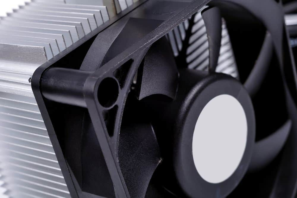 cooling fan of projector produces noise