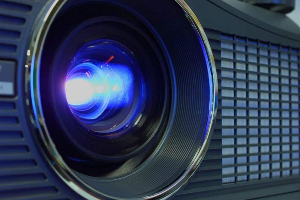 short throw lens projector