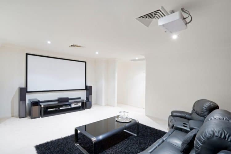 Projectors used at home