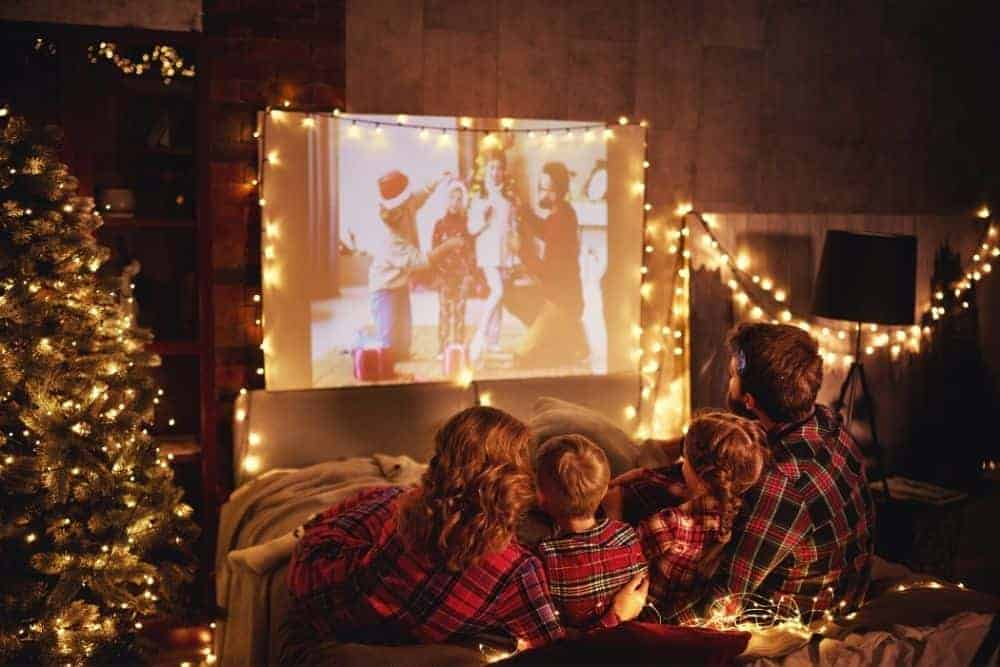 movie night with Epson 3220 projector