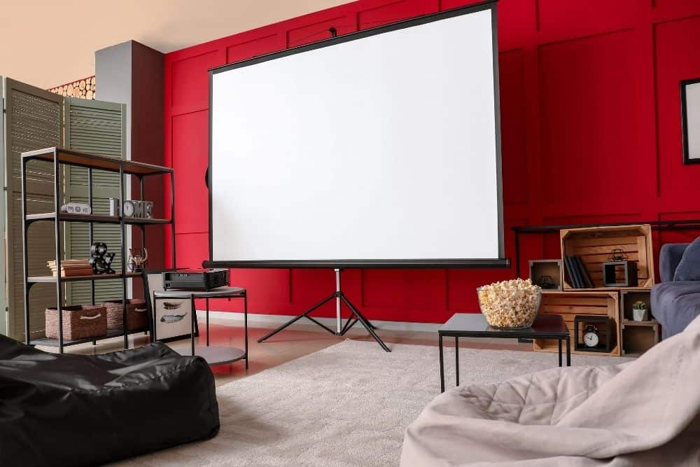 projector screen for 4k projector