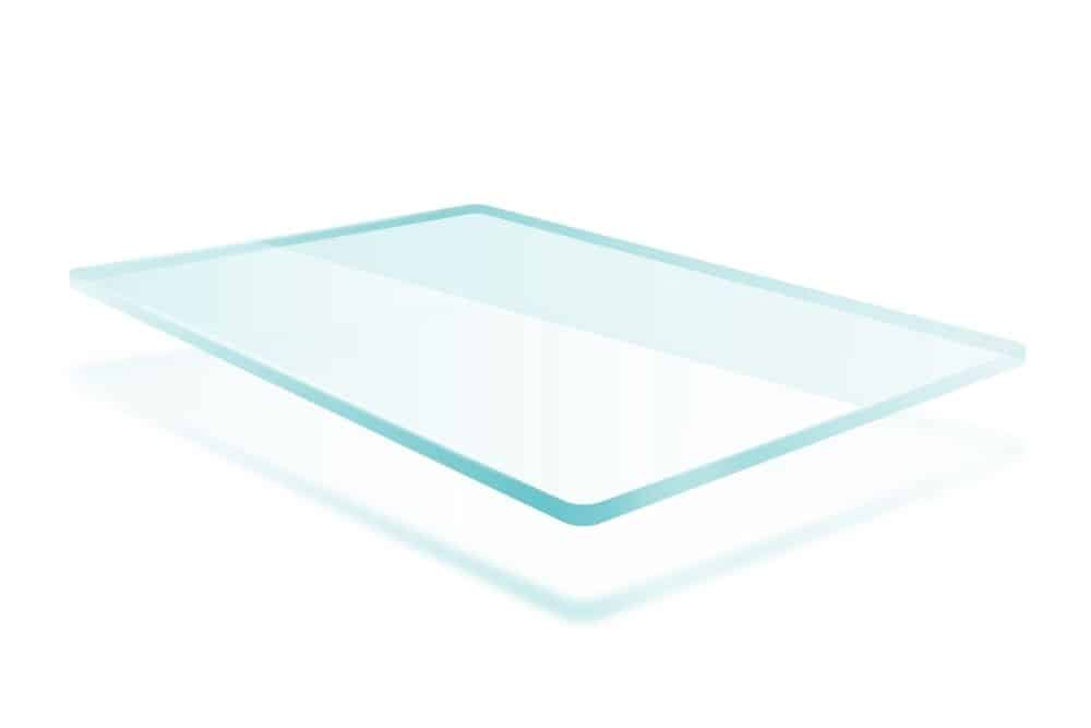the thick glass for projector screen