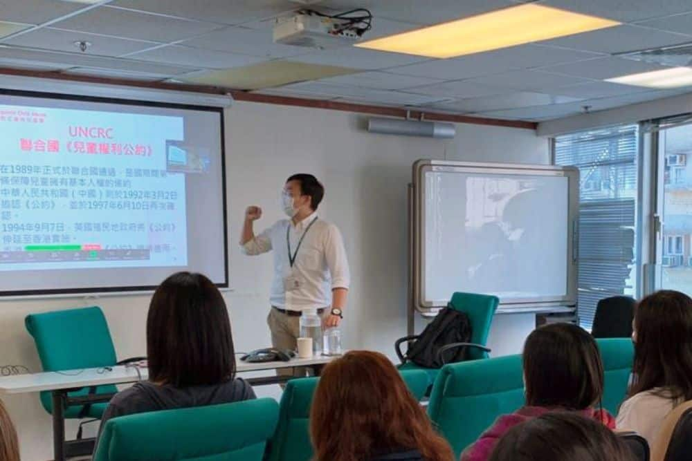 using projector for teaching
