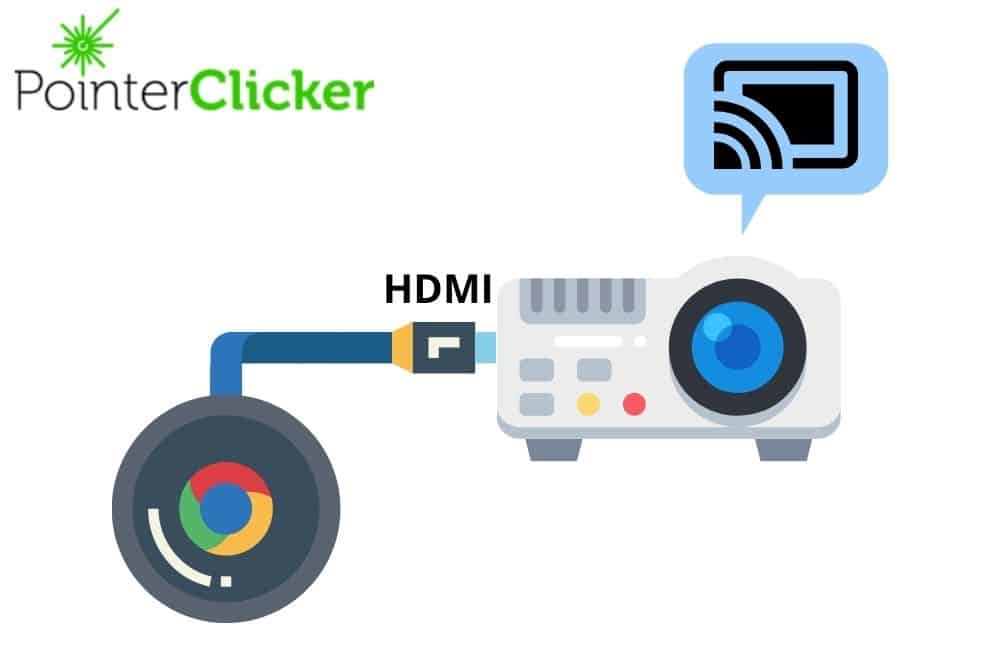 Connect Chromecast To A Projector with HDMI cable