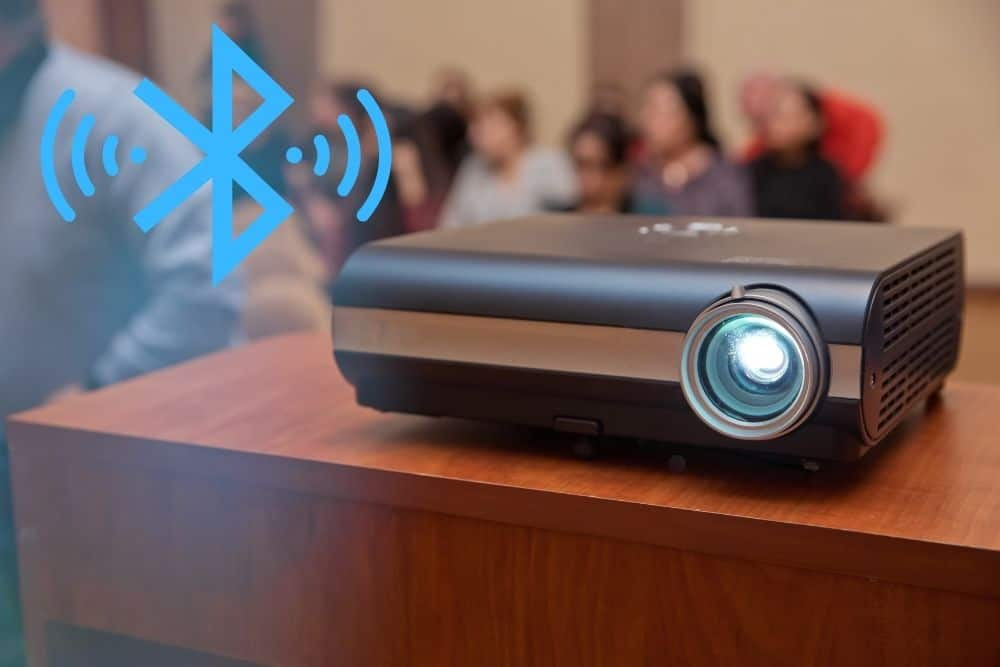 Projector And Bluetooth Connectivity