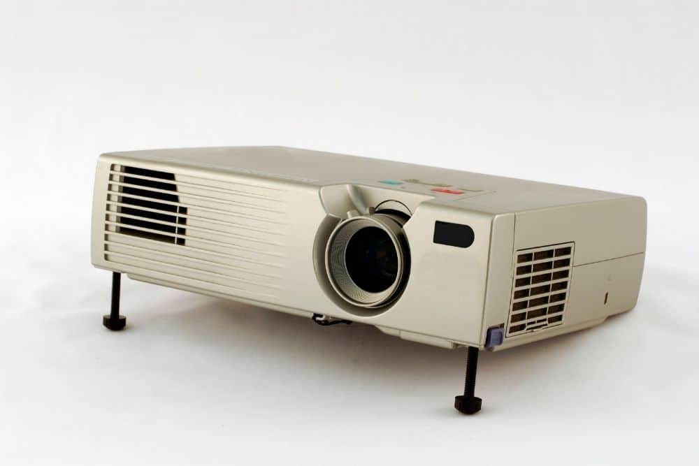 an old projector