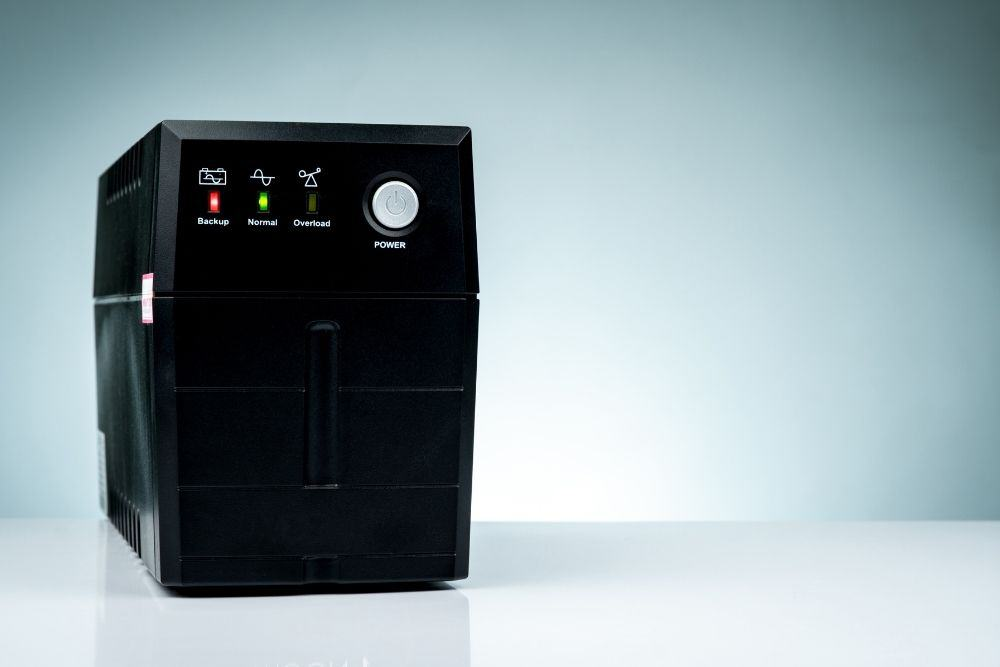 an uninterruptible power supply for projector