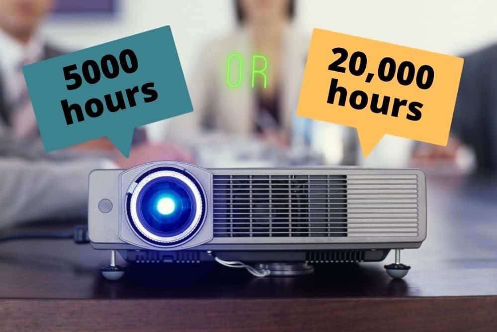 life expectancy of a projector