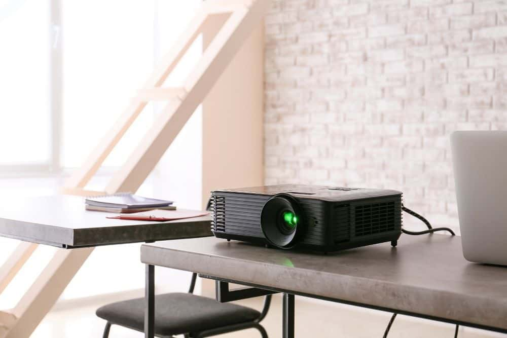 place projector in a ventilated location