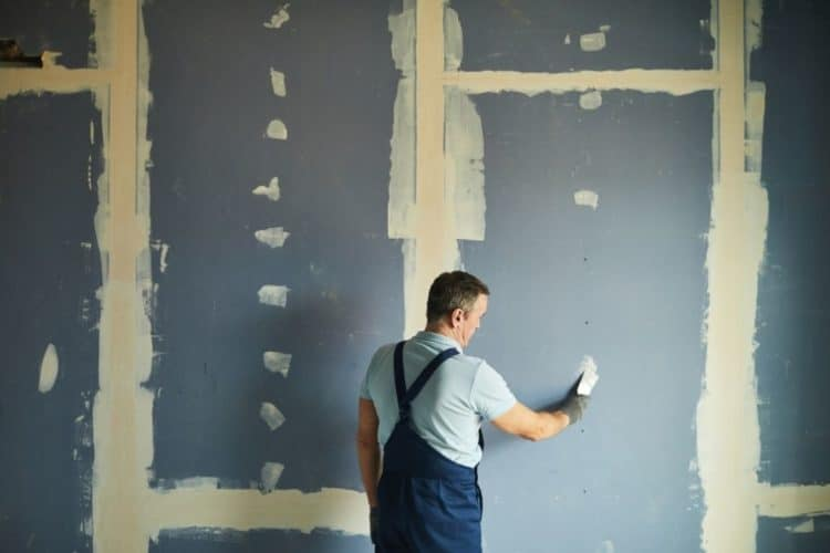 Construct new wall for home theater