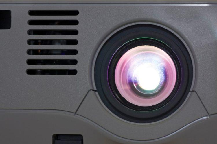 Digital Zoom Projector