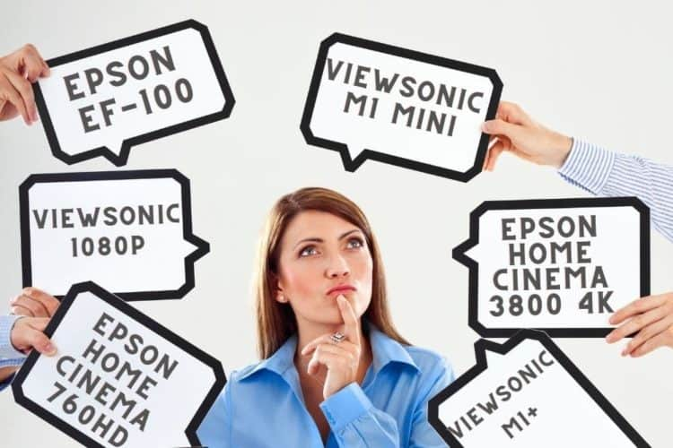 Epson and ViewSonic Projectors Choosing