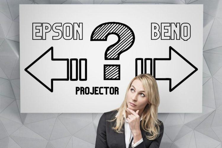 Projector Epson Vs BenQ comparing
