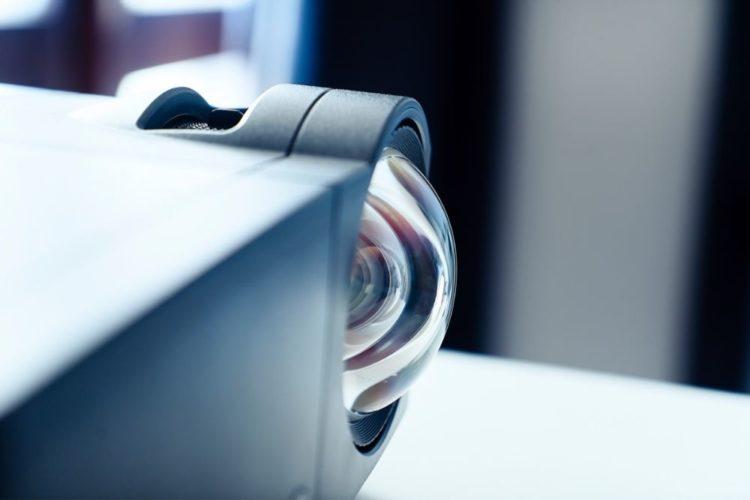 a projector bulb